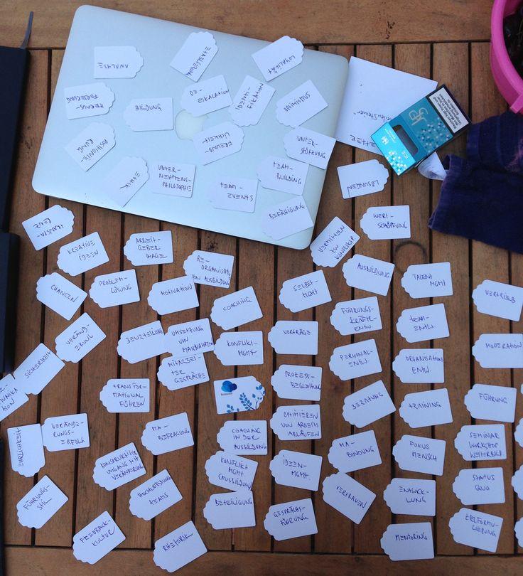 #Brainstorming und weitere #Methoden beim #SocialMedia #Workshop von #kumulus als Beitrag in einer #Blogparade.