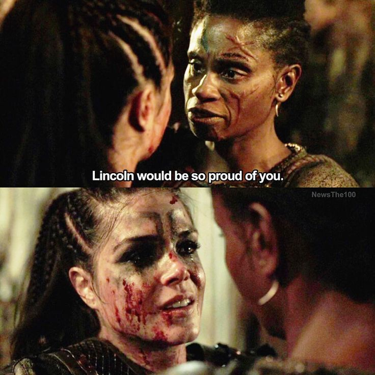 """#The100 4x10 """"Die All, Die Merrily"""" - Indra and Octavia"""