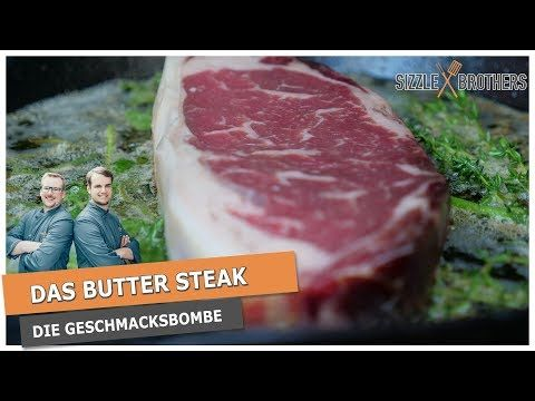 Rumpsteak grillen | Das Butter Steak | Das leckerste Steak? - YouTube