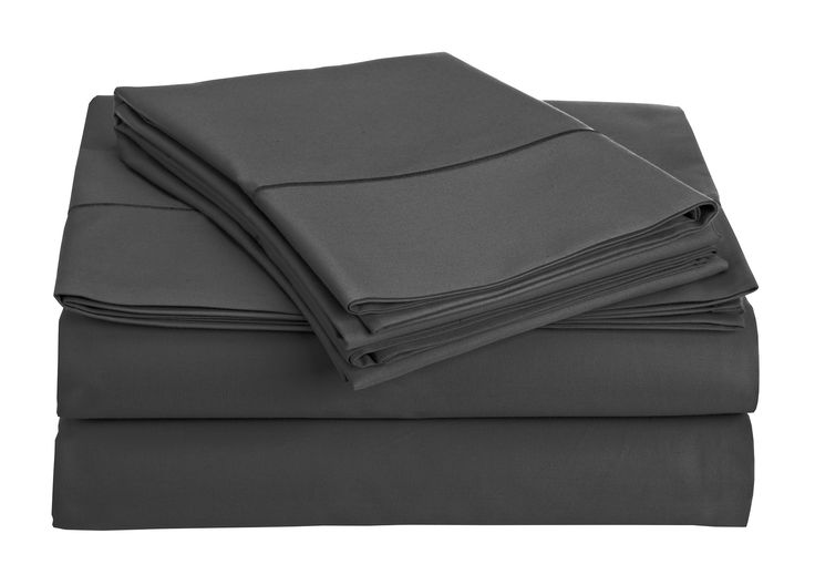 MEGA SALE TODAY Luxury Sheets On Amazon-Highest Quality! Luxury 800 Thread count 100% Egyptian Cotton Ultra Soft Sheet Set, Cal King - Charcoal