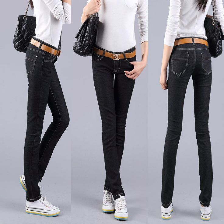 [DK Jeans] 2015 New Fashion Pure Black Skinny Joker Women's Jeans Feet Pencil Pants Slim Trousers Free Shipping #0040 - http://www.freshinstyle.com/products/dk-jeans-2015-new-fashion-pure-black-skinny-joker-womens-jeans-feet-pencil-pants-slim-trousers-free-shipping-0040/