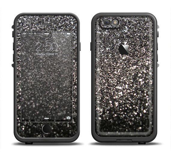 The Black Unfocused Sparkle Apple iPhone 6 by TheSkinDudes on Etsy