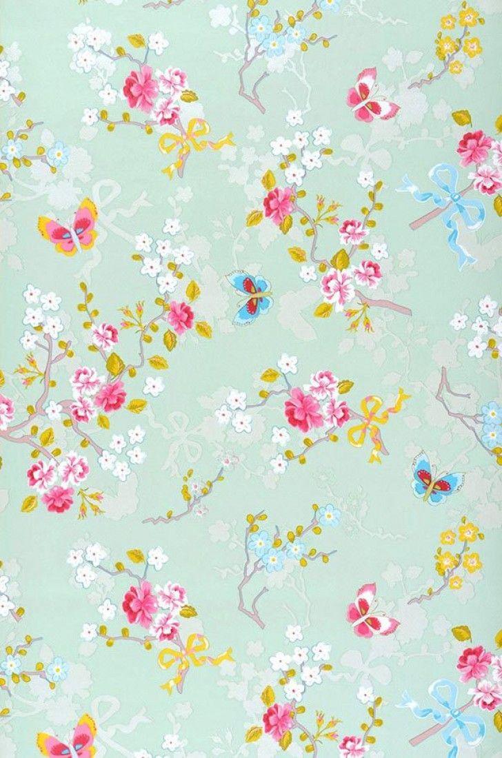 Benina | Papier peint floral | Motifs du papier peint | Papier peint des années 70