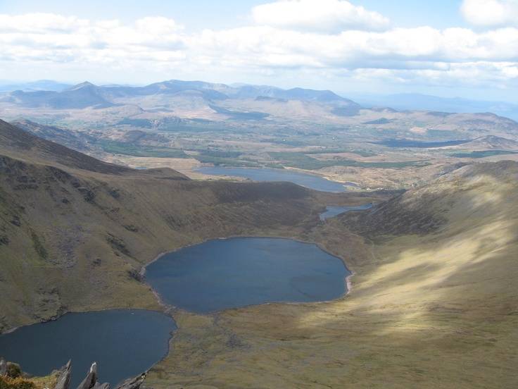 Looking into Coomloughtra lakes