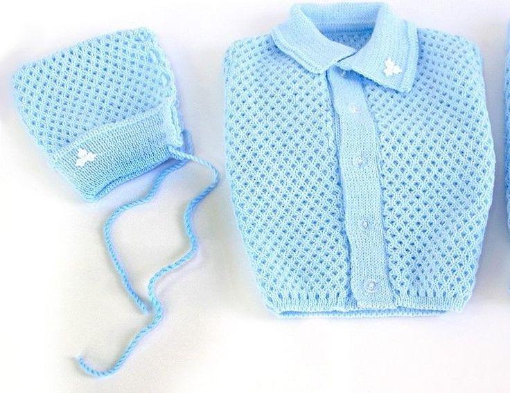 Amazing  teiliges Set Acryl Baby Erstausstattung Wolle Geschenk Geburt Taufe NEU EU