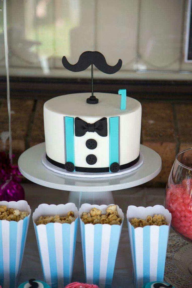 Moustache Cake  Cake by Cakes @ Tiffany's
