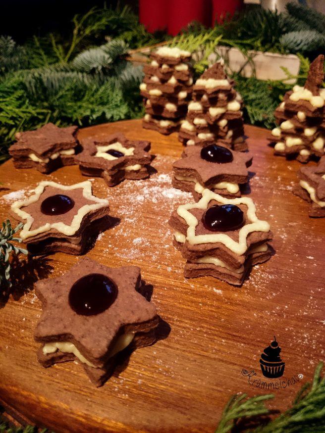 Schwarzwälder Kirsch-Plätzchen | Krümmelchaos