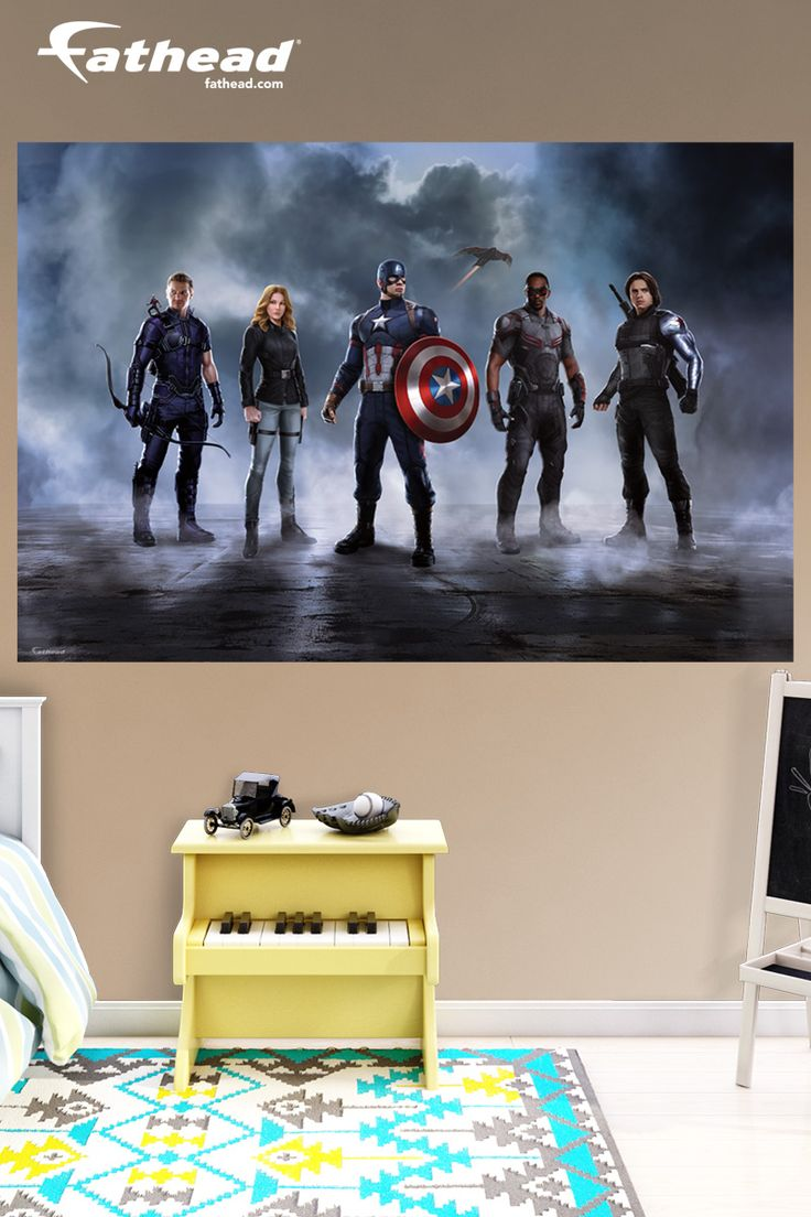 wall murals bedroom a collection of ideas to try about home decor captain america captain america civil war