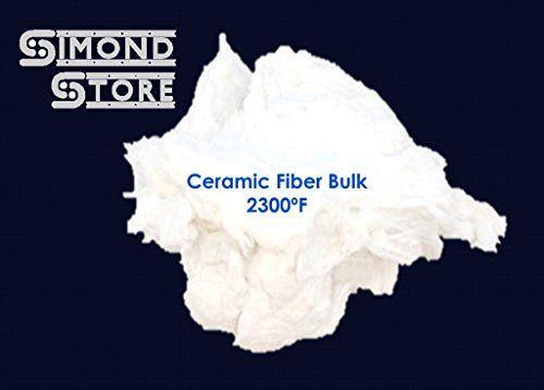 Ceramic Fiber Insulation Bulk - (Loose Ceramic Wool) - 2300°F - 1 Pound