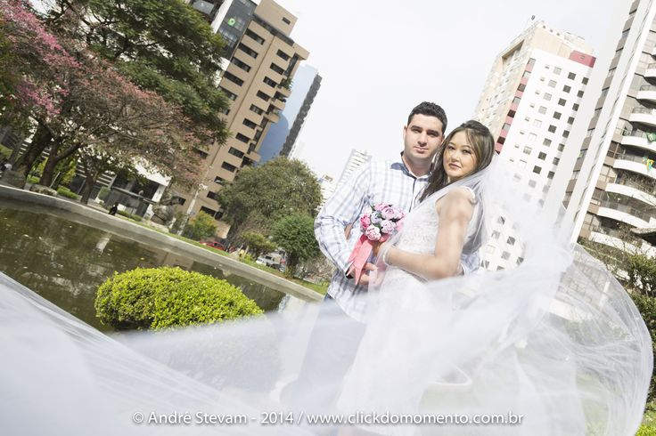 Pre-Wedding na Praça do Japão - Curitiba-PR