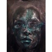 """""""Laine 7"""" William Stoehr - Artist Original Acrylic Painting on Canvas 48"""" x 36""""  $4,000.00 - See more at: http://gallerystthomas.com/art-medium/acrylic-paintings/william-stoehr-laine-7.html#sthash.huGz1S5u.dpuf"""