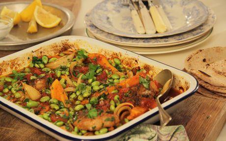 Easy Greek Lamb Recipe by Lisa Faulkner