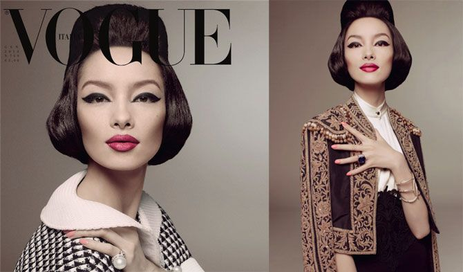 First Asian Woman On The Cover of Vogue Italia