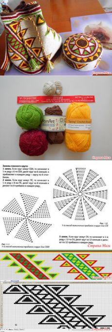 Wayuumochila pattern