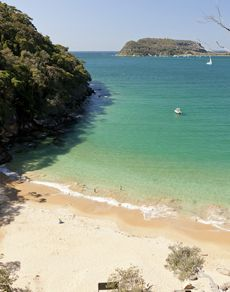 Get off the beaten path at Resolute Beach, Ku-Ring-Gai Chase National Park.