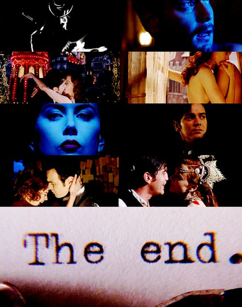Moulin Rouge...I CRY EVERY. FREAKIN'. TIME!
