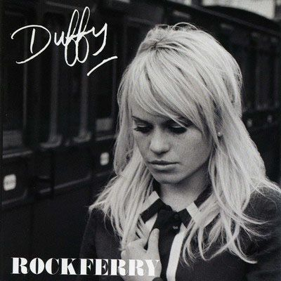 Duffy.  Love her album Rockferry!  So mellow and retro sounding.