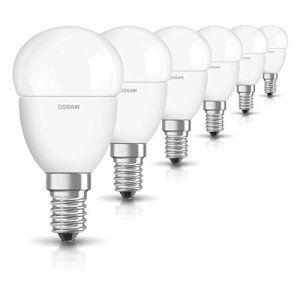 OSRAM ampoule LED E14 Star Classic P Ampoule basse consommation/ 6 W- Équivalent à une ampoule incandescente de 40 W, ampoule LED sphérique…