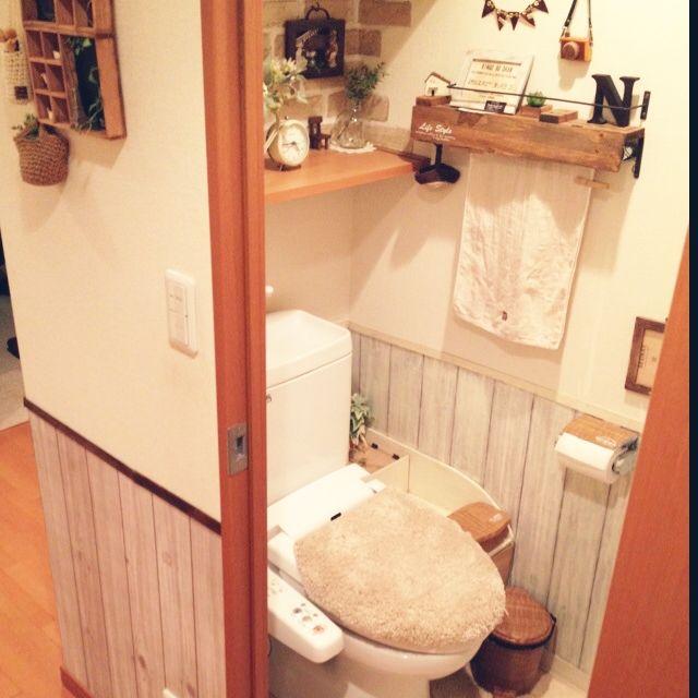 トイレ リメイク DIY セリア ダイソー カッティングシート リメイクシート 100均