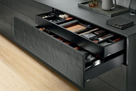 LEGRABOX pure and AMBIA-LINE systems by Blum