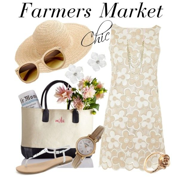 Chic Farmers Market Outfit