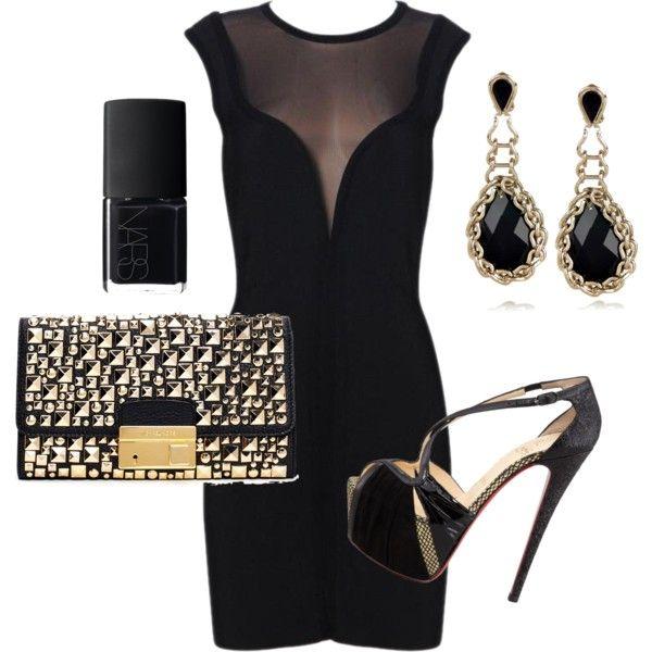 """""""Herve' Leger Little Black Dress"""""""