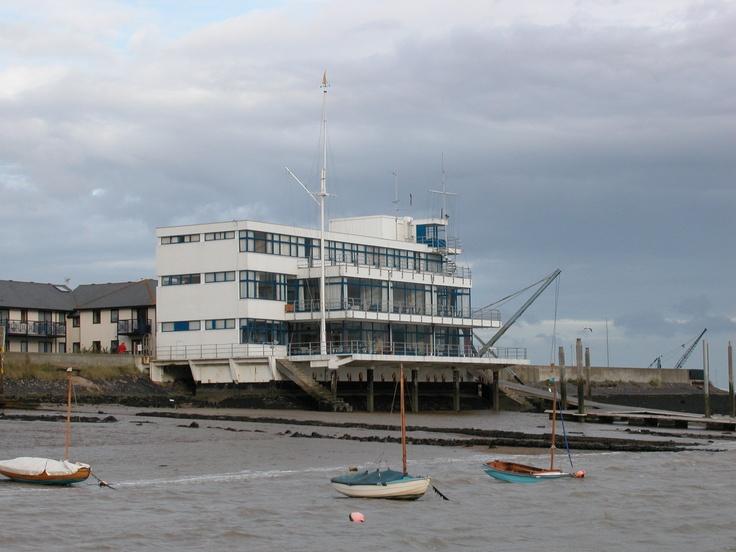 Burnham on Crouch Yacht Club by Joseph Emberton