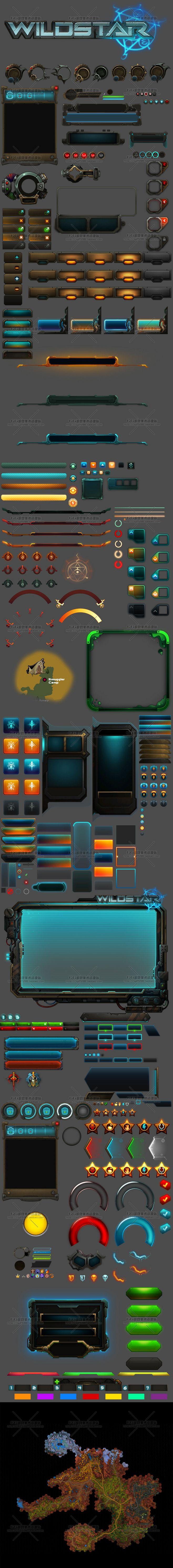 荒野星球Wildstar 欧美机械科幻/...@养精蓄锐采集到游戏UI(6530图)_花瓣UI/UX