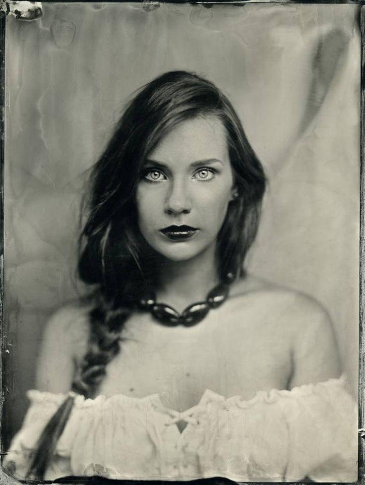 "Saatchi Art Artist Joanna Borowiec; Photography, ""Anna ,Collodion"" #art"