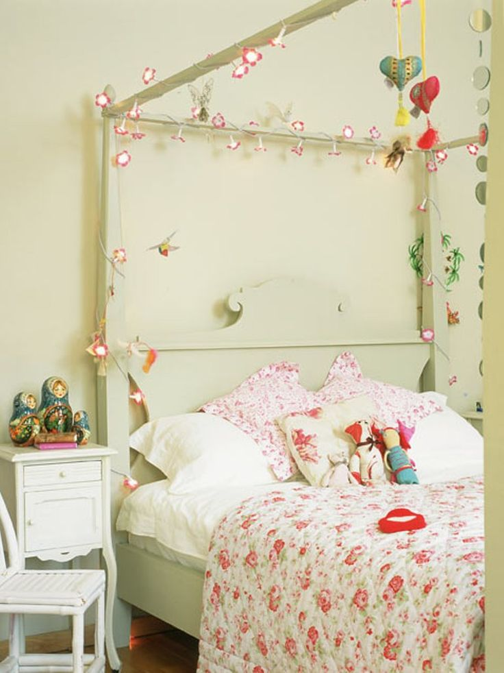 Kids Room Lighted Up Girl Bedroom With