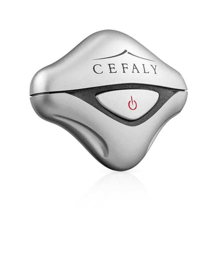 Cefaly new generation, first line treatment against migraines for patients who suffer frequent migraines.