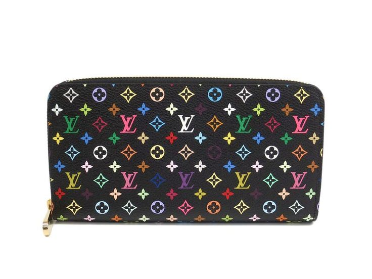 LOUIS #VUITTON Zippy Wallet Monogram Multicolor Noir M61876 (BF307093) All of #eLADY's items are inspected carefully by expert authenticators who have years of experience. For more pre-owned luxury brand items, visit http://global.elady.com