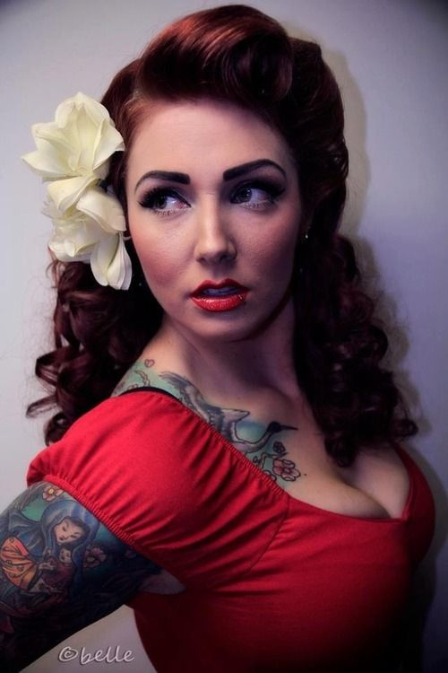 Hairstyles, Retro Hair, 50S Pinup Hairstyles, Rockabilly Hairstyles ...