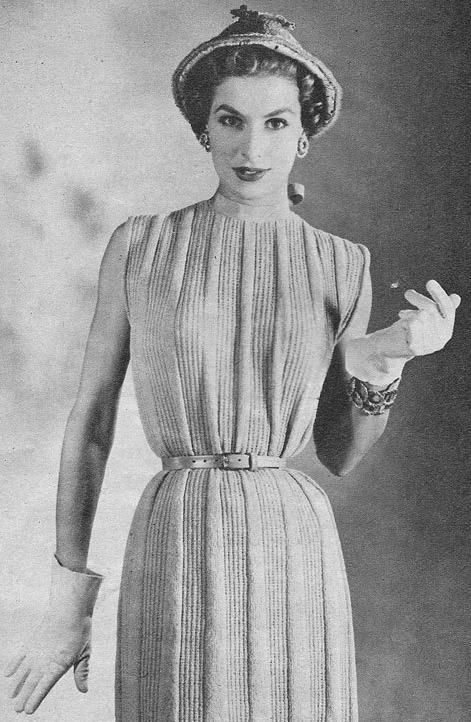 Ретро-настроение: вязание 1950-х - Ярмарка Мастеров - ручная работа, handmade