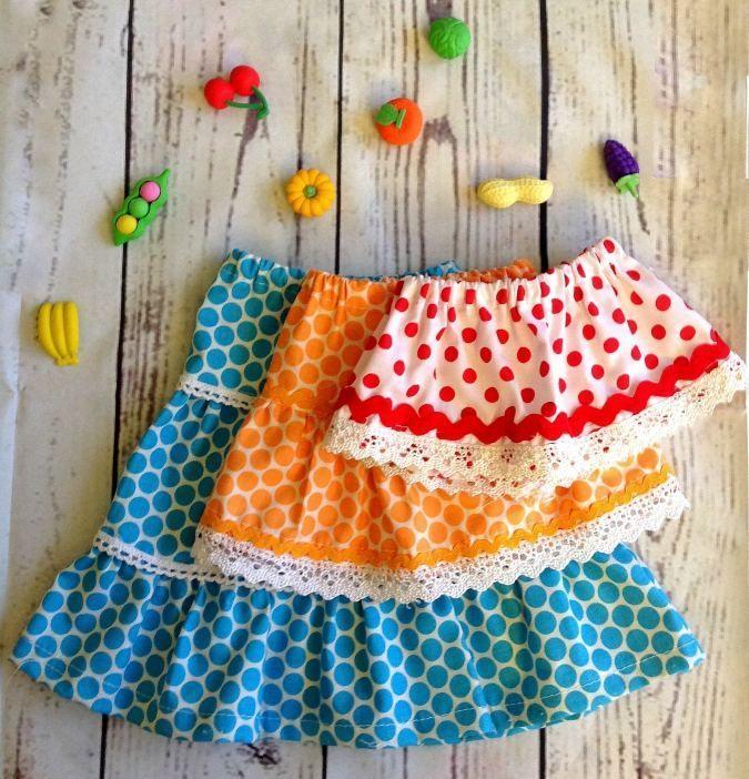 American Pattern Sewing Dolls Skirt Inch Midi Maxi Mini