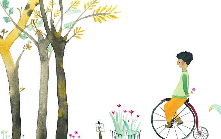 Paula Alenda ilustra ¡Qué raro! Un cuento de Catalina González que Edelvives incluye en la colección Lee y Escucha para primeros lectores.