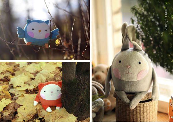 Plush toys Aki on Toy Design Served