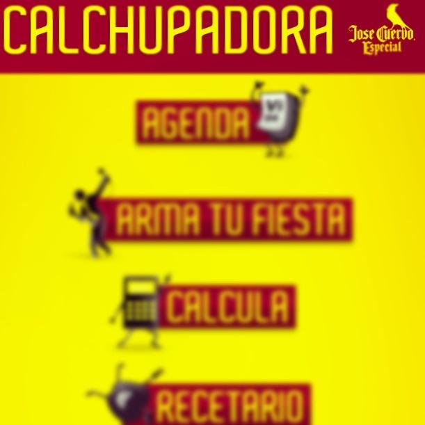 Calchupadora... #JoseCuervoEspecial