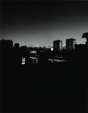 Night 1 - Untitled 15 - London -1998, Gelatin Silver prints from Black & White negatives, 40 x 50 cm Chrystel Lebas