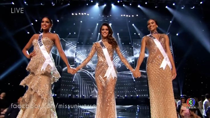 Miss Universe  2016/ 2017 | TOP 3 Announcement & Solo Performance,  Final & Crowning Moment (FULL HD :1080p)  Miss France Iris Mittenaere  Miss Haiti Raquel Pelissier  Miss  Colombia Andrea Tovar UP CLOSE TOP 3  Pia Wurtzbach takes her final walk Thanks for watching! มิสยูนิเวิร์ส...  https://www.crazytech.eu.org/miss-universe-2016-2017-top-3-announcement-solo-performance-crowning-moment/