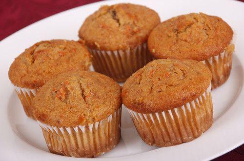 Mrkvové muffiny - recept   Elegantní bydlení