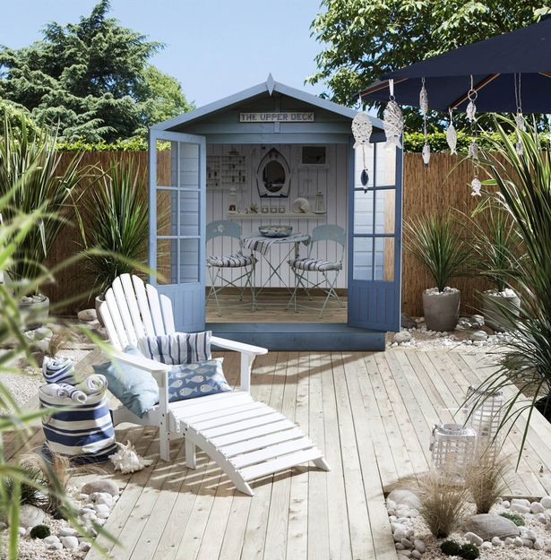 Beachy: Add some nautical features to your garden