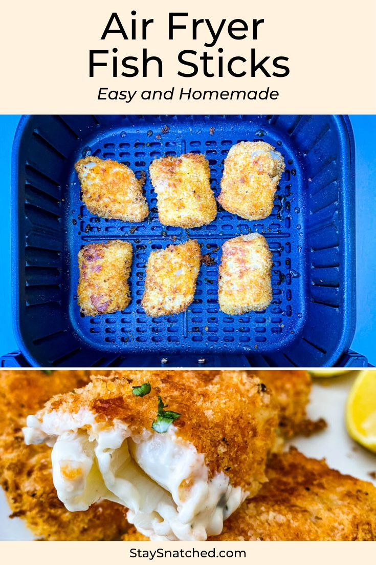 Easy Air Fryer Fish Sticks is a quick homemade recipe