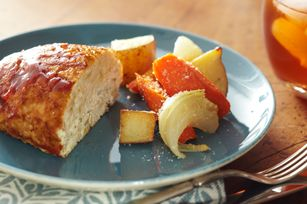Turkey Meatloaf for Two recipe