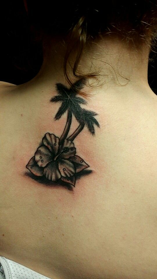 Florida Palm Tree Tattoo: 28 Best Images About Palm Tree Tattoo's On Pinterest