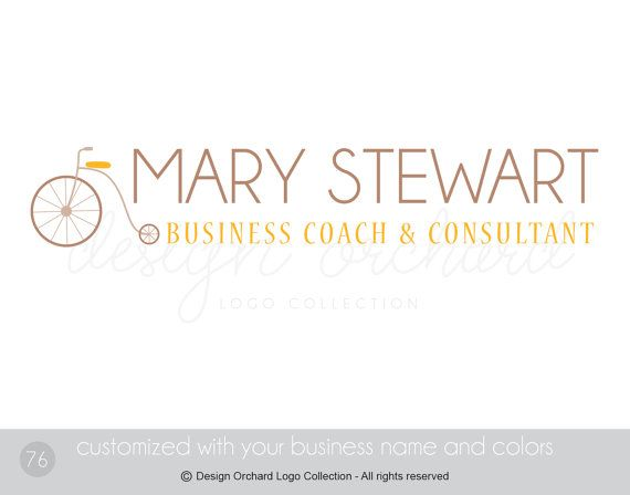 Customizable Logo Business Coach and Consultant by DesignOrchard