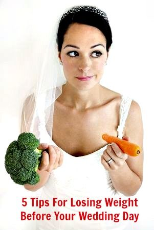 """If you are looking for some fast weight loss tips to lose weight for your wedding, you're in the right place. I am happy to share with you """"5 Tips for losing weight before your wedding day. http://www.venusfactorsystem.org/5-tips-for-losing-weight-before-your-wedding-day/"""