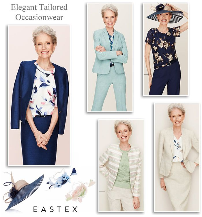 Eastex Over 50 S Fashion Dress Skirt And Trouser Suits Grandmother Of The Bride Outfits Bride Clothes Mother Of The Bride Outfit 50s Fashion Dresses