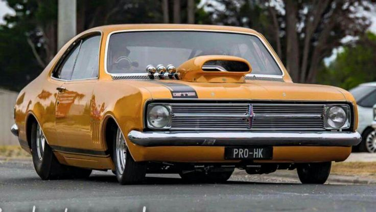 Drag car from down under.