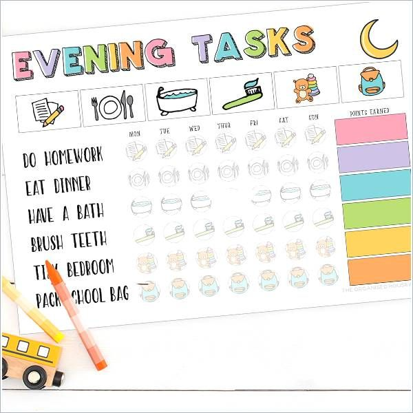 Toddler Daily Schedule Template Toddler Daily Routine Chart Lovely